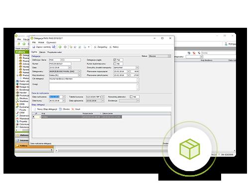 screen z systemu ERP enova365 moduł handel