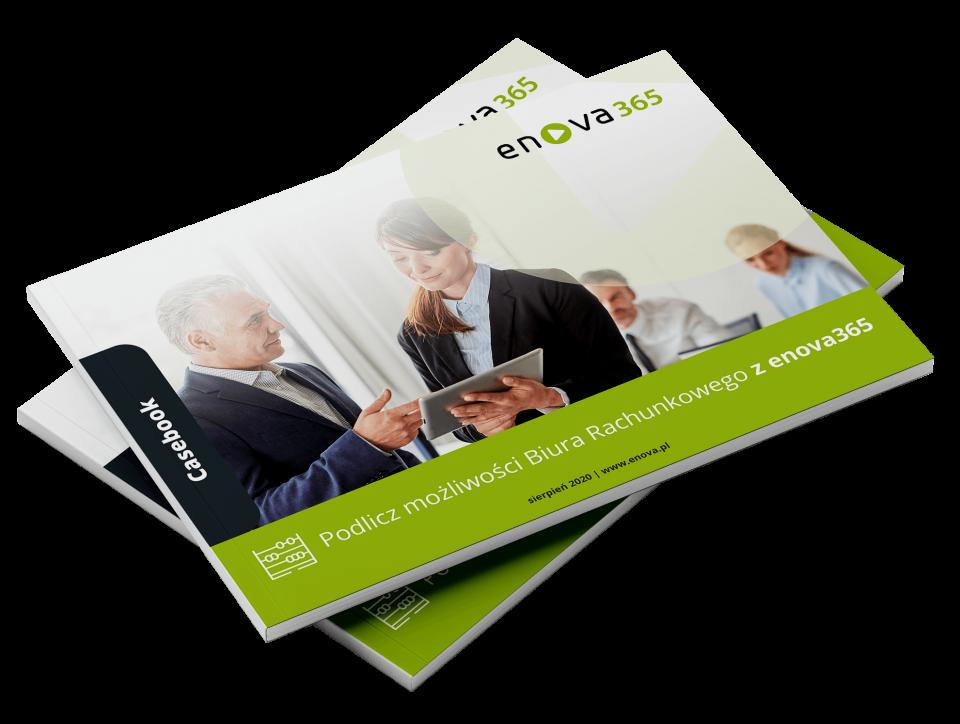 Wdrożenie systemu ERP enova36 w biurach rachunkowych - bezpłatny casebook