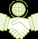 ikona współpraca z autoryzwanym partnerem systemu erp enova365