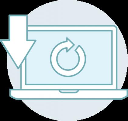 aktualizacje sustemu erp enova365 - ikona