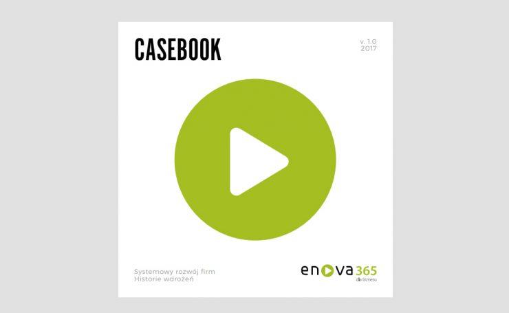 mockup publikacji case studies z wdrożenia systemu erp enova365