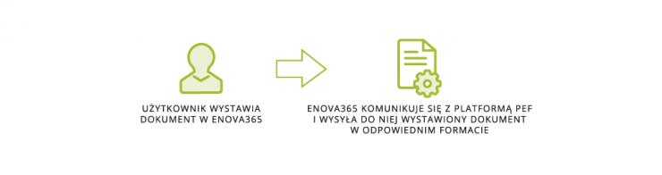 Za pomocą systemu enova365 z modułem EDI zintegrowanym z PEF.