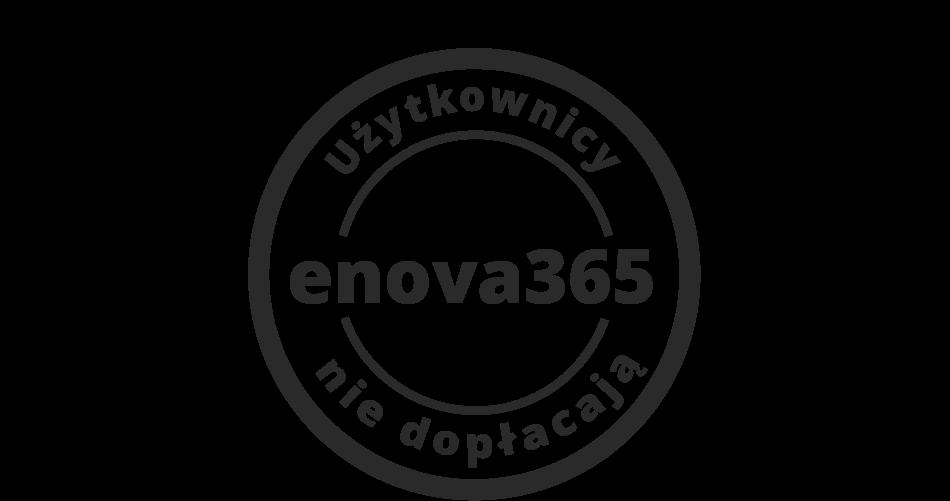 ERP enova365 - użytkownicy nie dopłacają