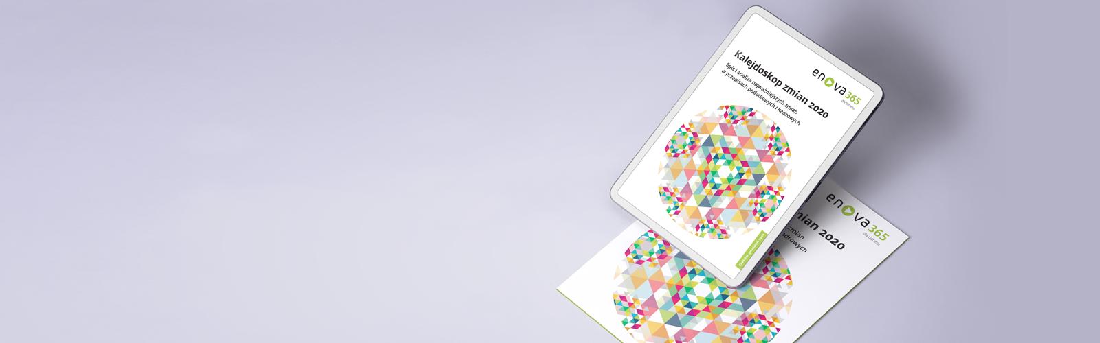 publikacja ekspertów systemu erp enova365 o zmianach w przepisach 2020 banner