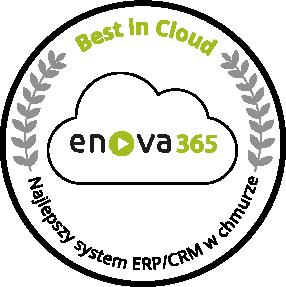 enova365 najlepszym produktem ERP/CRM w chmurze w konkursie Best in Cloud