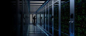 data center, serwerownia - banner na stronie system enova365 w chmurze