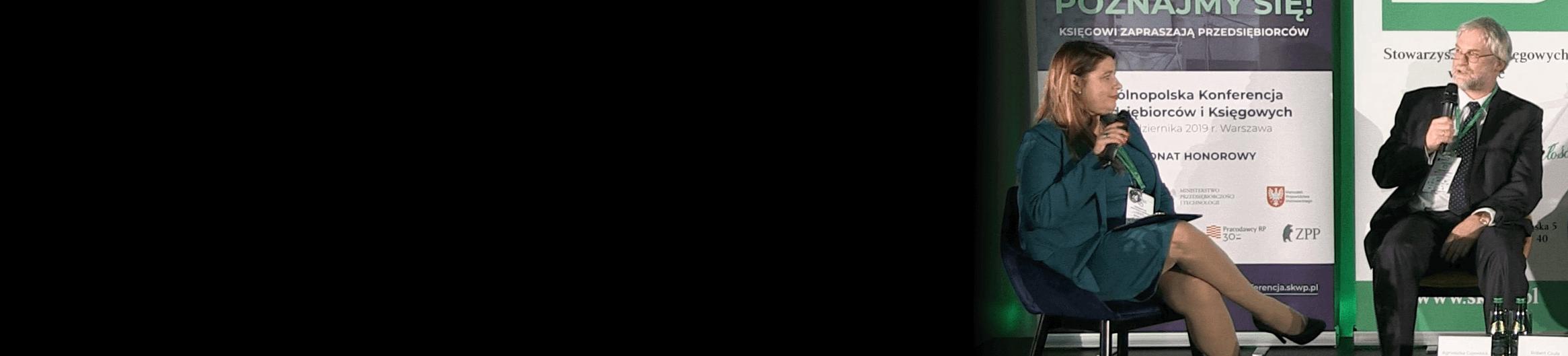 Konferencja nowoczesna technologia a współpraca i komunikacja z biurem rachunkowym. Zdjęcie Prezesa Roberta Czuły, Soneta, producent systemu ERP enova365