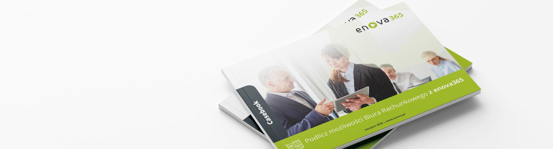 Okładka bezpłatnego casebooka, dedykowanego Biurom Rachunkowym