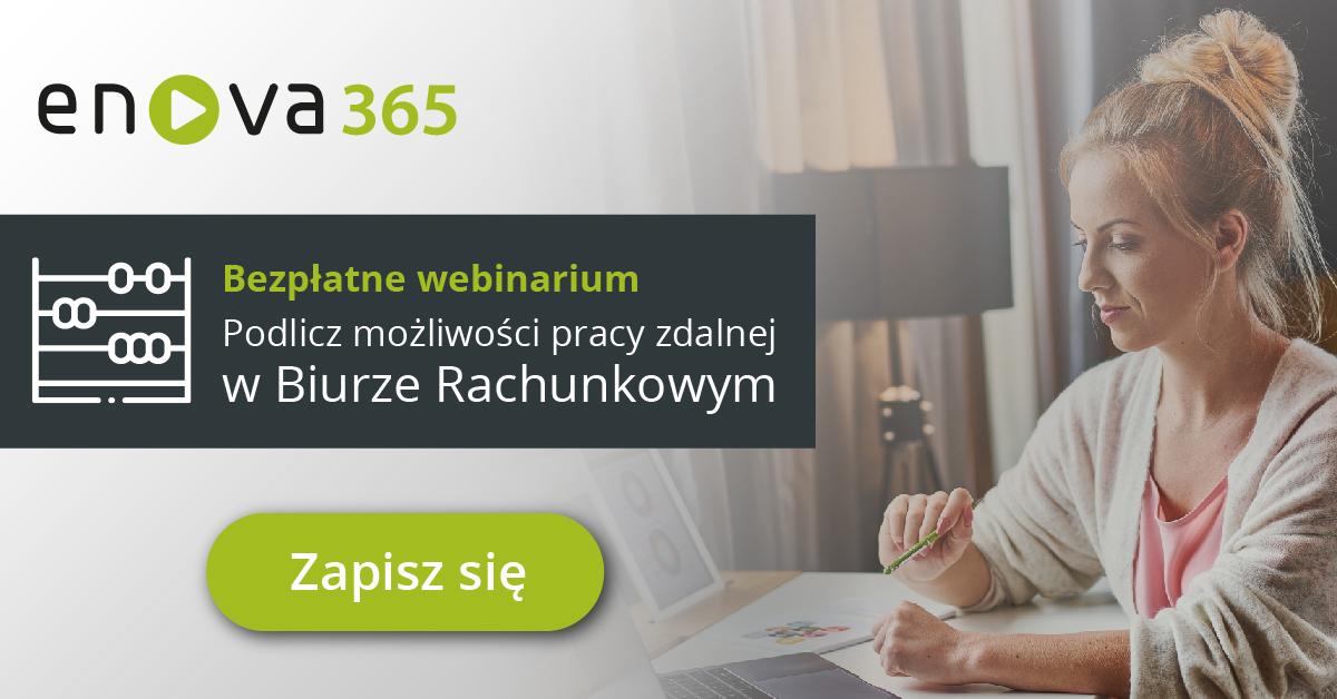 Webinarium: Podlicz możliwości pracy zdalnej w Biurze Rachunkowym