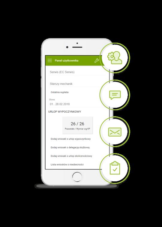 enova365 aplikacja mobilna dla binzesu - sprawne procesy HR