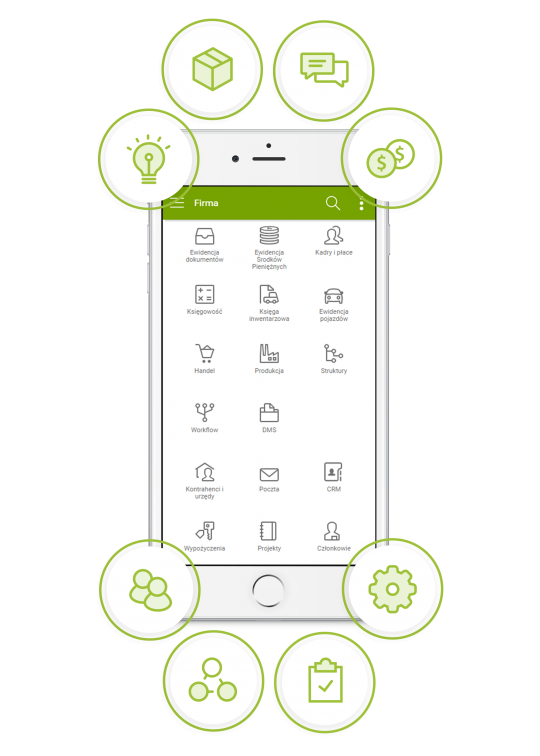 enova365 aplikacja mobilna dla biznesu - kompletny ERP w Twoim telefonie
