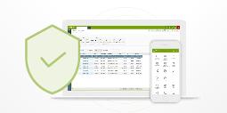 Grafika - wysoki poziom bezpieczeństwa systemu ERP enova365