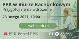 webinarium PPK dla biura rachunkowego enova365