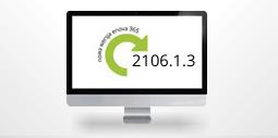 monitor z numerem nowej wersji enova365 2106.1.3