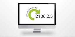 monitor z numerem nowej wersji enova365 2106.2.5